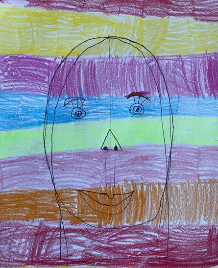 Frida Kahlo inspired portrait.