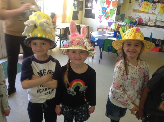 Our lovely Easter bonnets