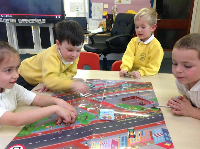 Playing road safety games