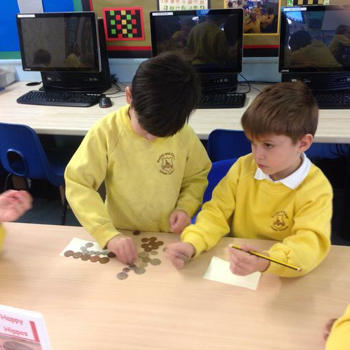 Recognising different coins