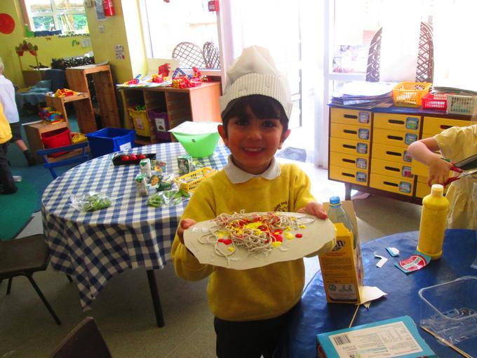 Using resources to make pasta
