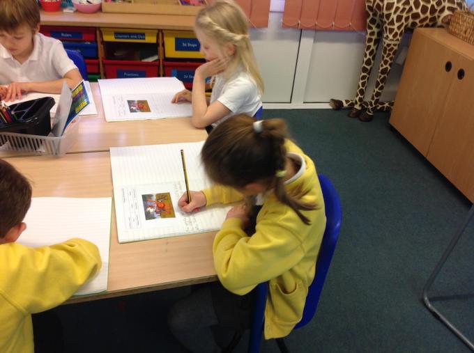 Describing animals using similes
