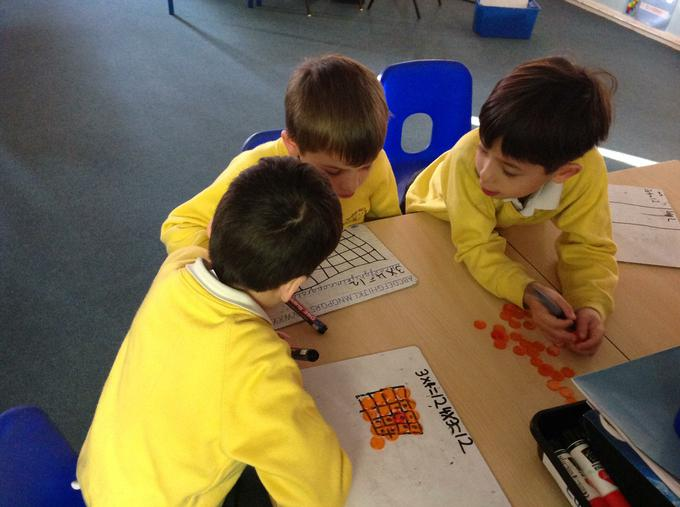 Showing different ways to multiply