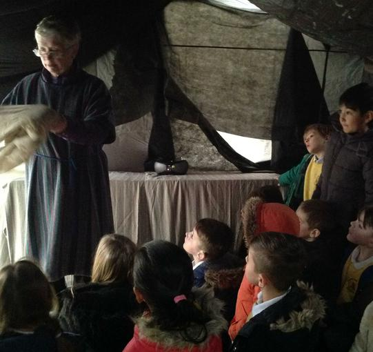 Finding out about the tomb