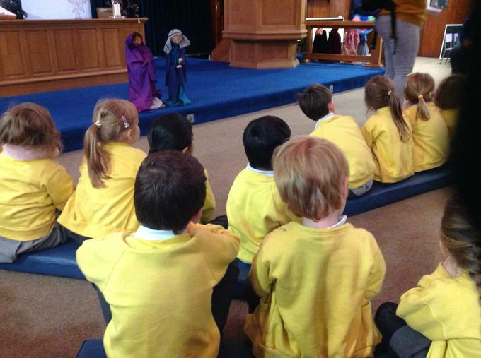 Our visit to the Methodist Church