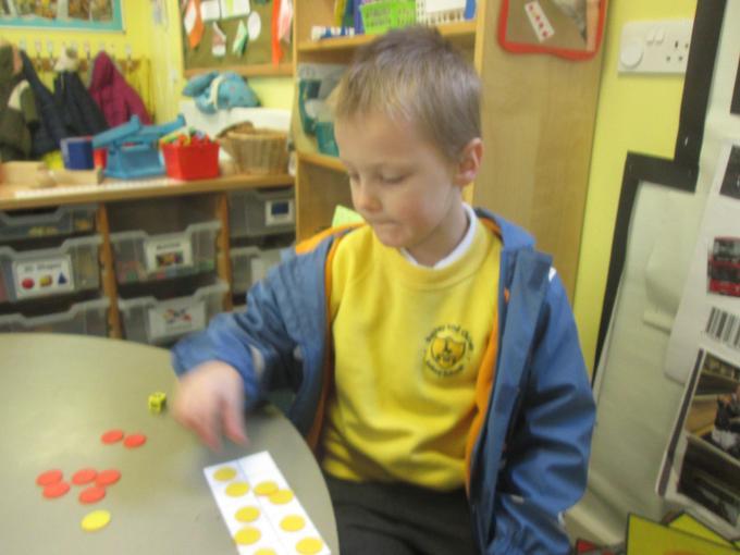 Practising subtraction