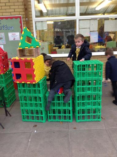Building a large castle outside