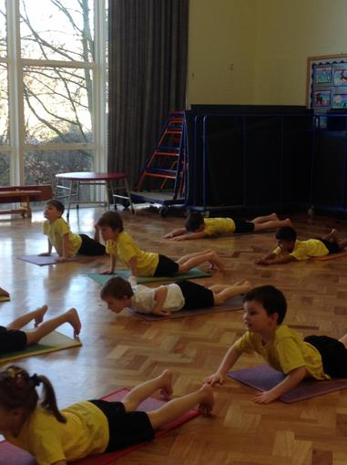 Pilates with Mrs Charles