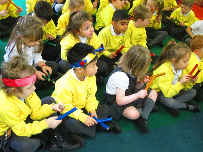 Using instruments in Music