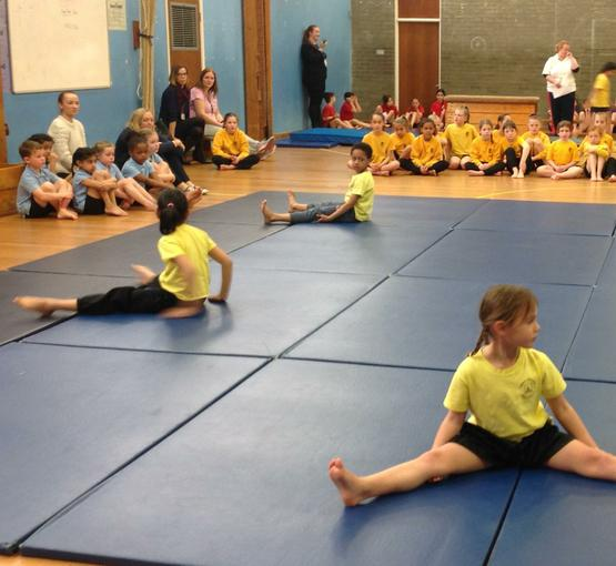 Our winning gymnastics performance!