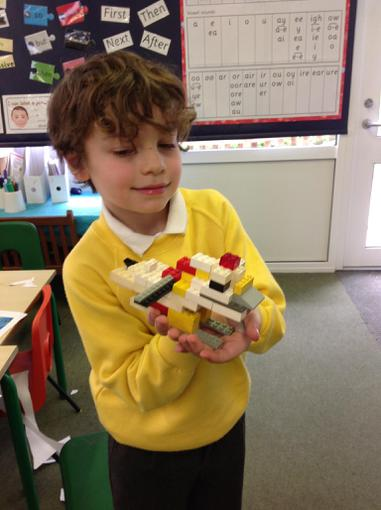 Lego bird model.
