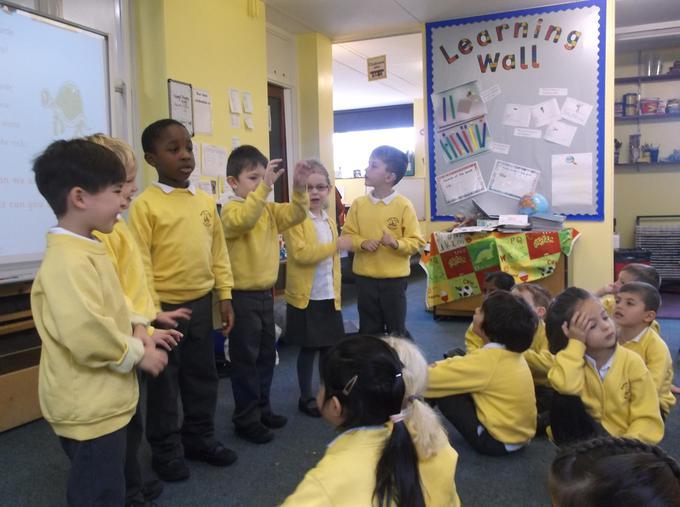 Performing a poem