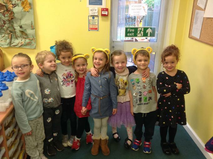 Children in Need dress up day