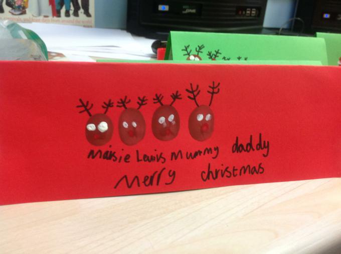 B2's Christmas Cards