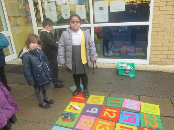 Our giant snakes and ladders