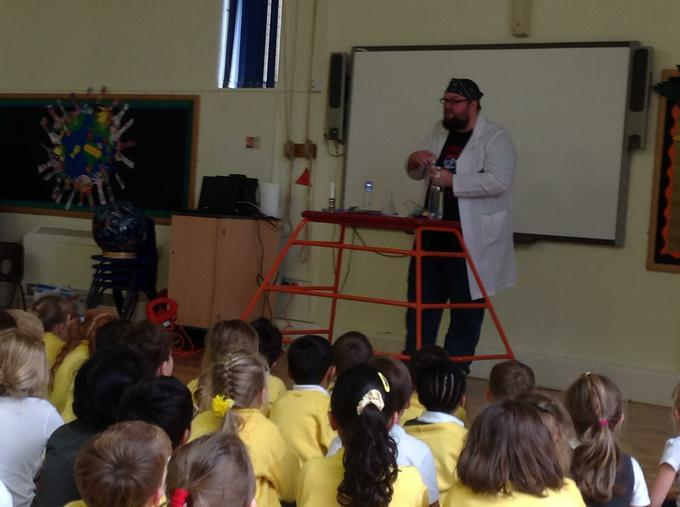 We loved our science assembly