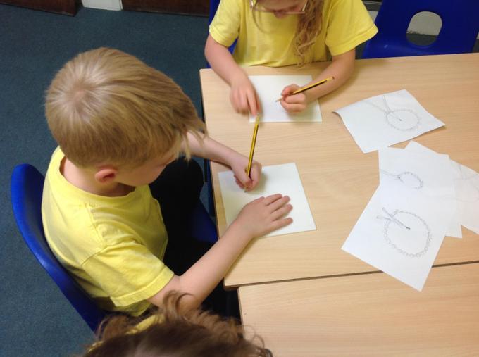 Sketching landmarks