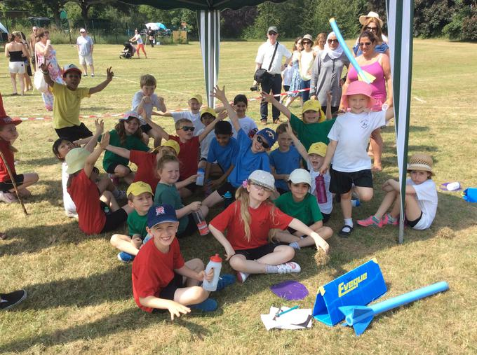 Sports Day in the sunshine!