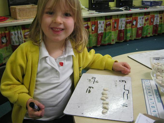 We used dinosaur food to work out calculations