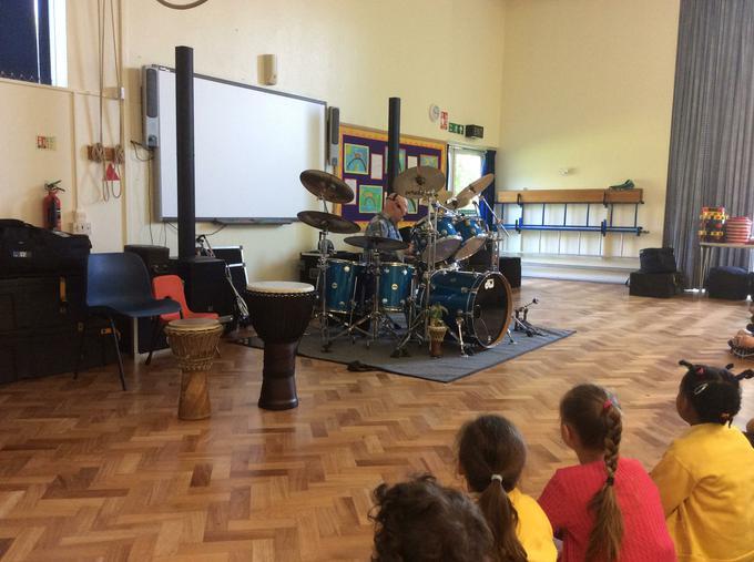 Drumming concert!