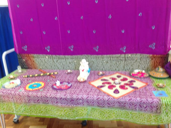 Display for Diwali assembly