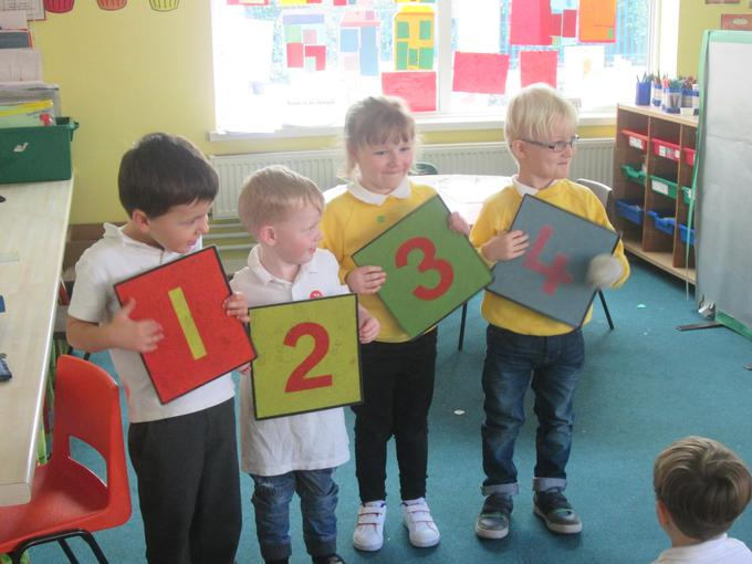 We have been working together to order numbers