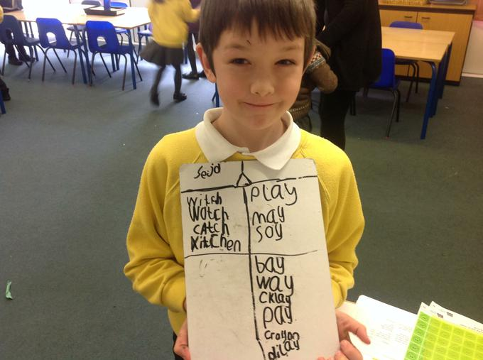 Excellent learning in phonics
