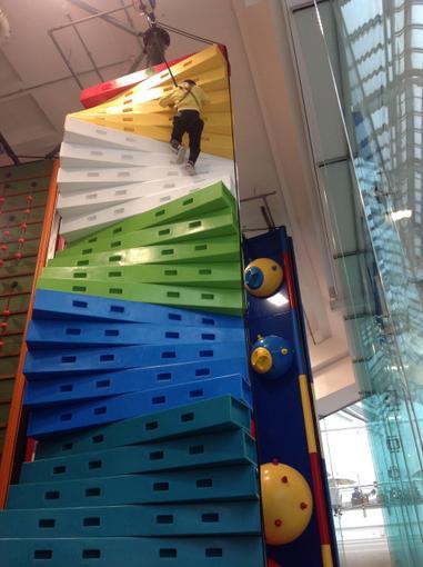 Climbing high !