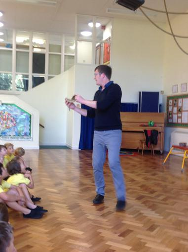 We really enjoyed Mr Leveson's assembly