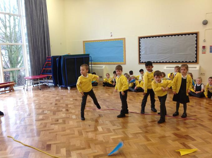 Testing our aeroplanes