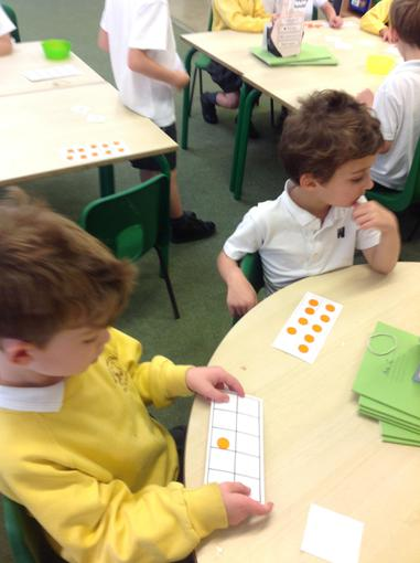 Exploring different ways of representing numbers.