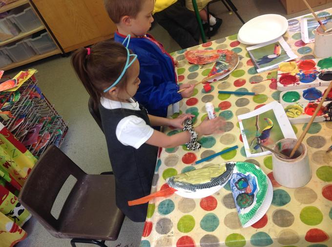 Making our toucans