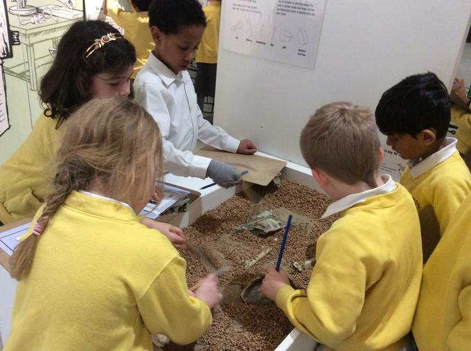 Being paleontologists