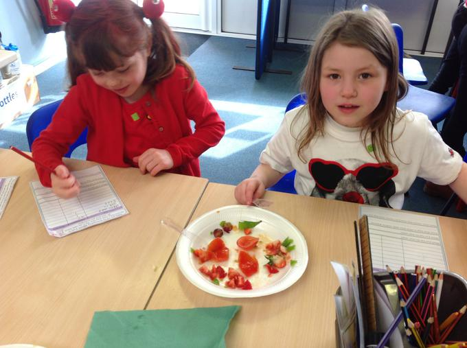 Counting and recording the number of seeds