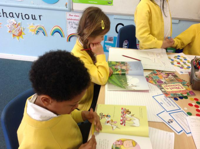 Reading our books attentively