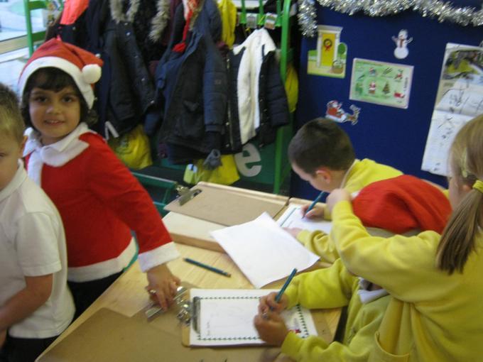 Getting busy in Santa's workshop