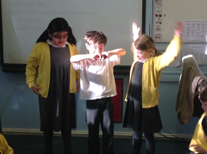 Performing list poems