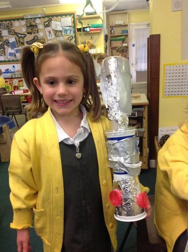 We made rockets this week