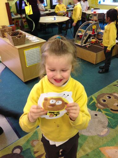 Finding the bumblebear in the classroom