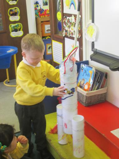 We shared some of our home learning