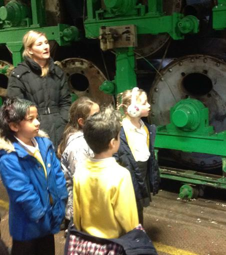 Tour of the paper factory
