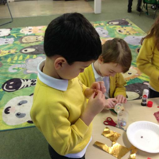 Busy making our super veg heroes