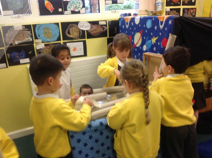 We designed and built our own rockets