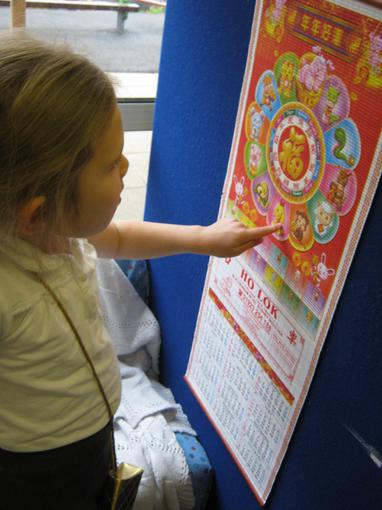 We looked at Chinese calendars