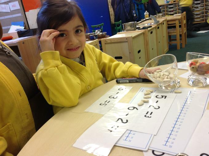 We have been learning about subtraction