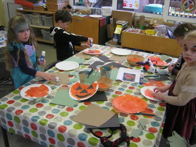 We made some pumpkins