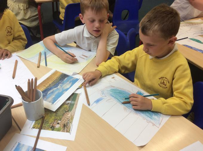 Drawing our landscape