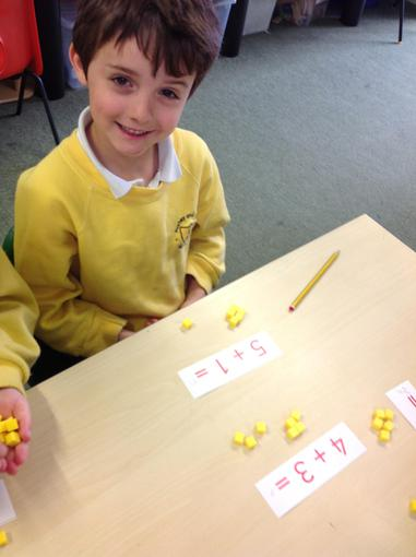 Using the Base 10 to add numbers together