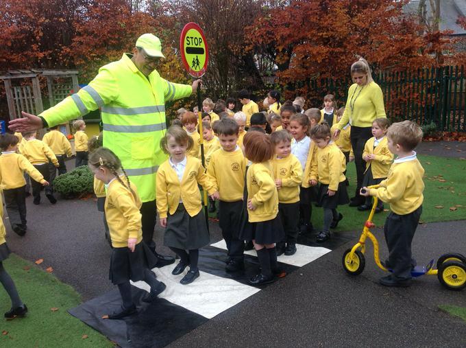 practising Road Safety