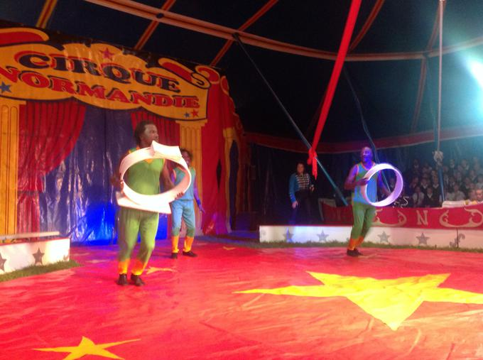 Fun at the circus!